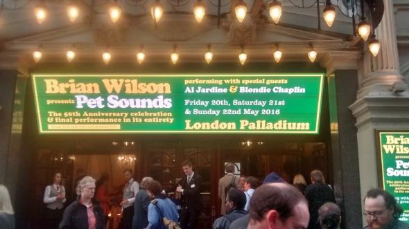 Letreiro Brian Wilson